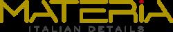 Material Italian Details Shop Logo